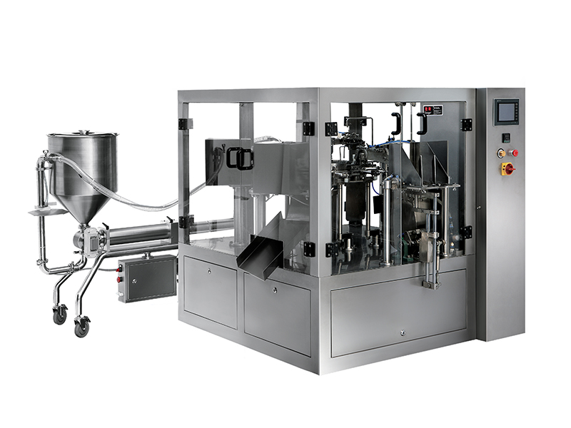 MW-200YT-A Liquid Paste Body Premade Pouch Packing Machine